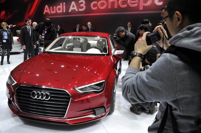 Audi a dévoilé l'an dernier à Genève sa... (Photo AFP)