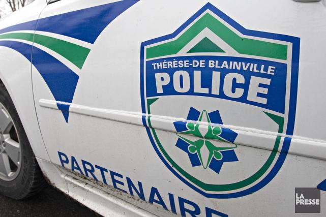 Un automobiliste est mort peu après avoir eu un accident lors d'une longue... (PHOTO FOURNIE PAR LE SERVICE DE POLICE)