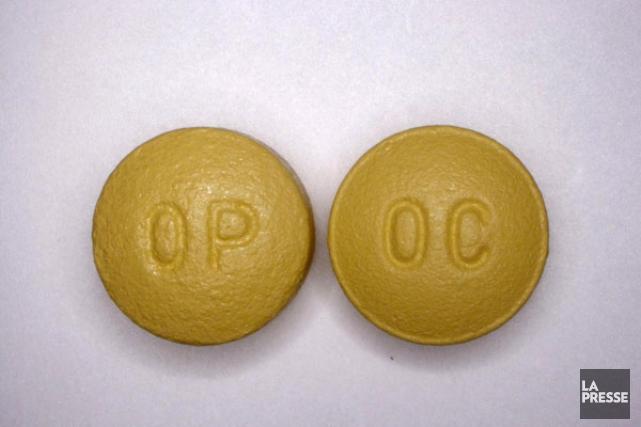 L'OxyContin, nom commercial de l'oxycodone, est un puissant... (Photothèque La Presse)