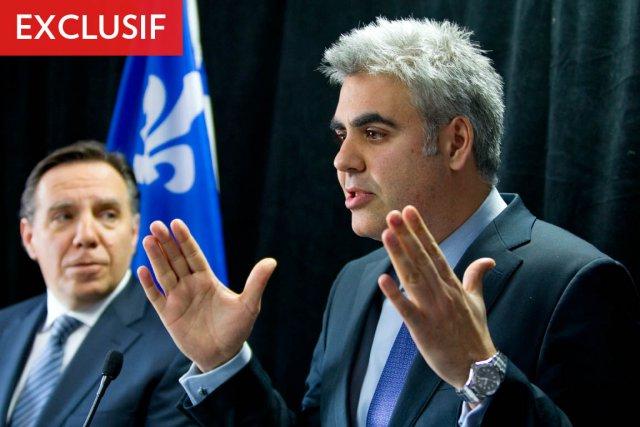Le député caquiste François Rebello (à droite) sollicitera... (Photo: Alain Roberge, Archives La Presse)