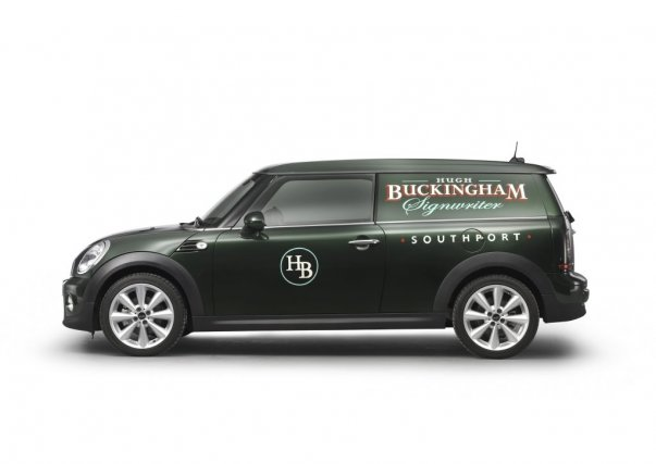 Le concept MINI Clubvan....