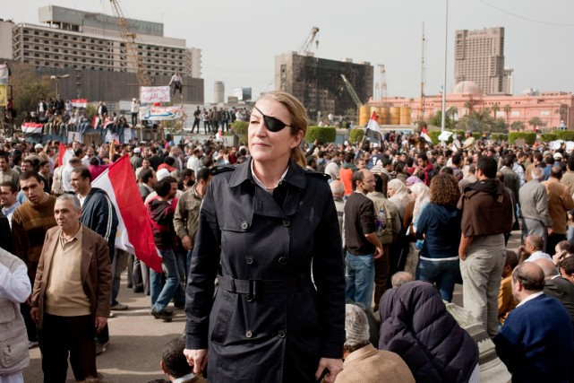Marie Colvin  - que l'on voit ici au... (Photo Archives AFP)