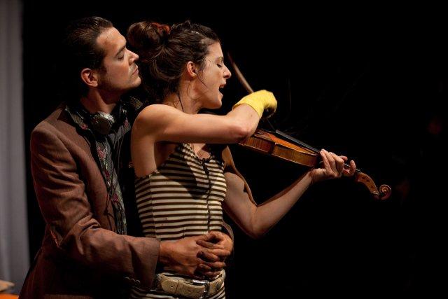 Soyons francs. Ceux qui osent porter le théâtre de Réjean Ducharme sur scène... (Photo fournie par le Théâtre d'Aujourd'hui)