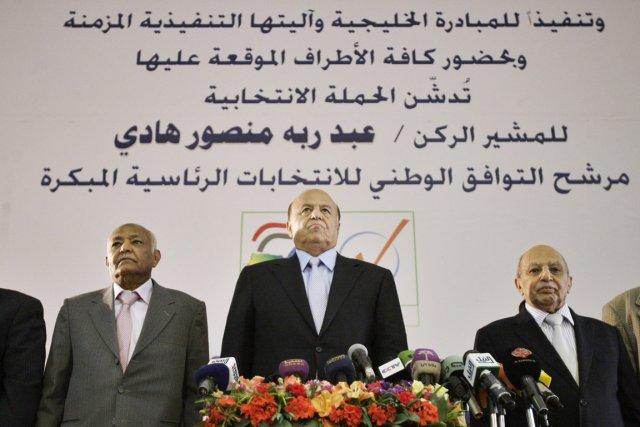 Unique candidat à la présidentielle yéménite, le ... (Photo: Hani Mohammed, Archives AP)