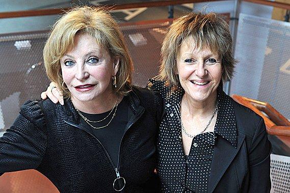 Louise Marleau (comédienne) et Lorraine Pintal (metteure en... (Le Soleil, Steve Deschênes)