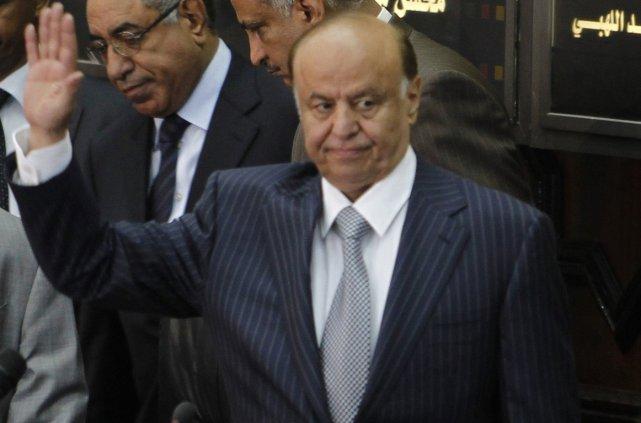 Abd Rabbo Mansour Hadi... (Photo AFP)