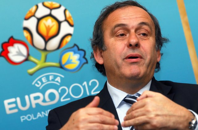 Le président de l'UEFA, Michel Platini.... (Photo archives AFP)