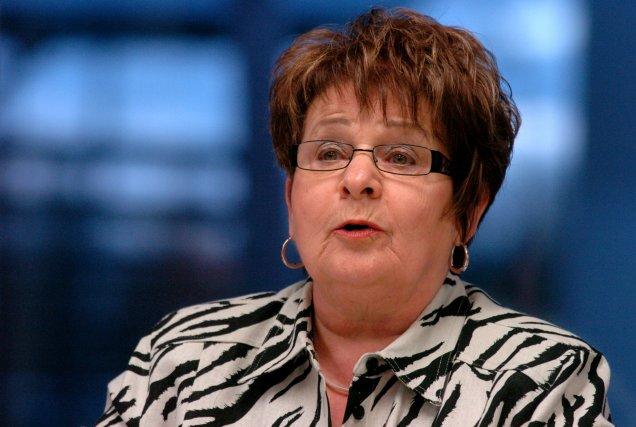 La mairesse de Saint-Paulin, Brigitte Gagnon.... (Photo: François Gervais)