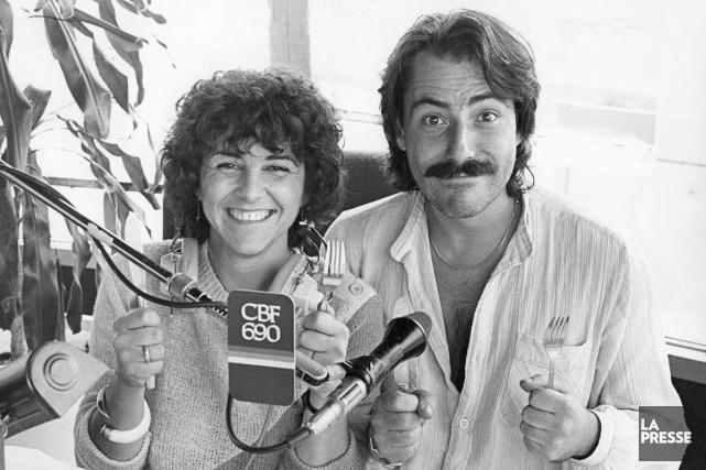 Chantal Jolis et Jean-Francois Doré, de l'émission Bouchées... (Archives La Presse)