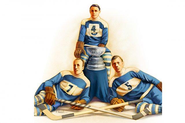 Il y aura 100ans le 6mars que Québec a remporté sa première Coupe Stanley....