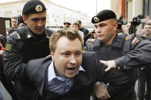 L'homophobie est largement répandue en Russie. L'homosexualité y... (Photo: Mikhail Metzel, Archives AP)