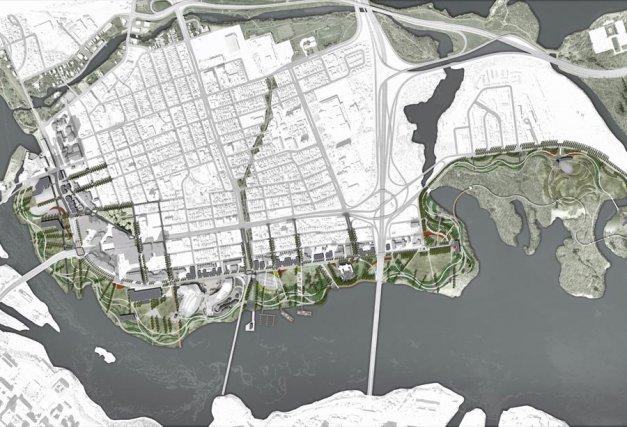 Le projet touristique Destination Gatineau nécessitera des investissements... (Photo de courtoisie, Ville de Gatineau)