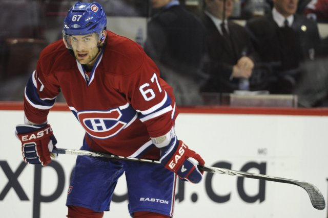 Max Pacioretty... (Photo: Bernard Brault, La Presse)