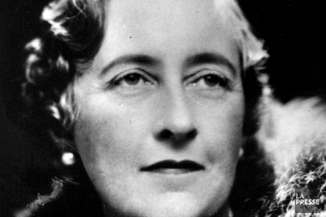 Agatha Christie... (PHOTO ARCHIVES LA PRESSE)