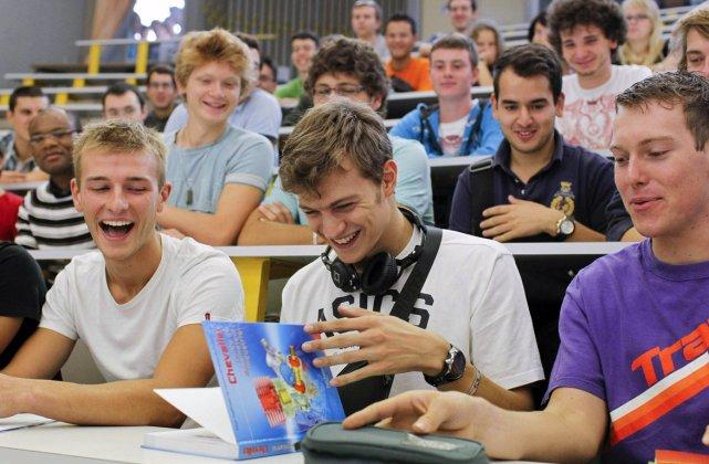 Salle de classe dans une université en France.... (Photo: ROBERT PRATTA, Reuters)
