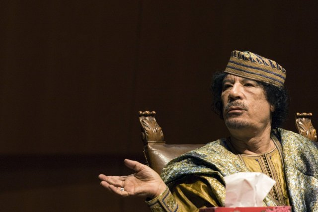 Mouammar Kadhafi... (Photo: Reuters)