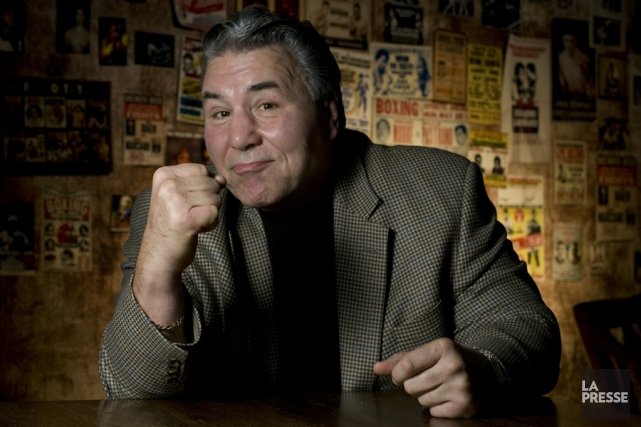 George Chuvalo... (Photo André Tremblay, archives La Presse)