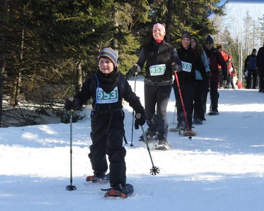 Outre les traditionnelles activités de ski de fond... (Photo: Sylvain Mayer)