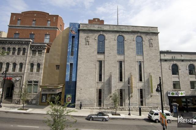 L'ancien Musée Juste pour rire, visé par le... (Photo: Robert Skinner, Archives La Presse)