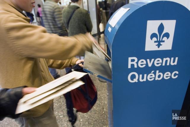 Cette année Revenu Québec met en place des... (Photothèque La Presse)