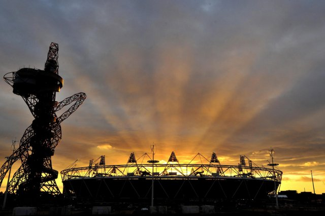 Le stade olympique de Londres.... (Photo: AP)
