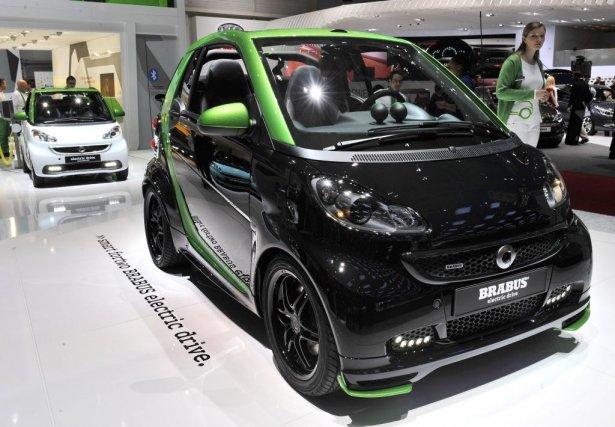 La Smart Brabus électrique sera livrée à la...