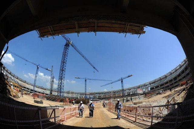 Le stade Maracana.... (Photo AFP)