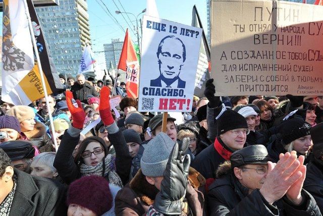 Le mouvement d'opposition en Russie montre des signes... (Photo: AFP)