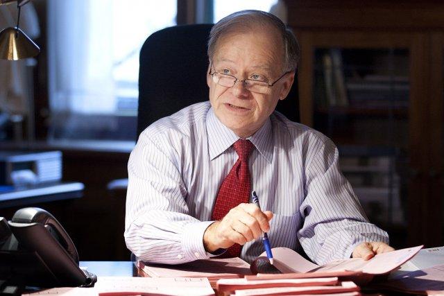 Le ministre des Finances, Raymond Bachand, dans ses... (Photo: PC)