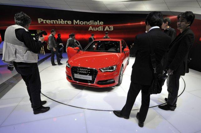 La nouvelle Audi A3 2013.... (Photo AP)