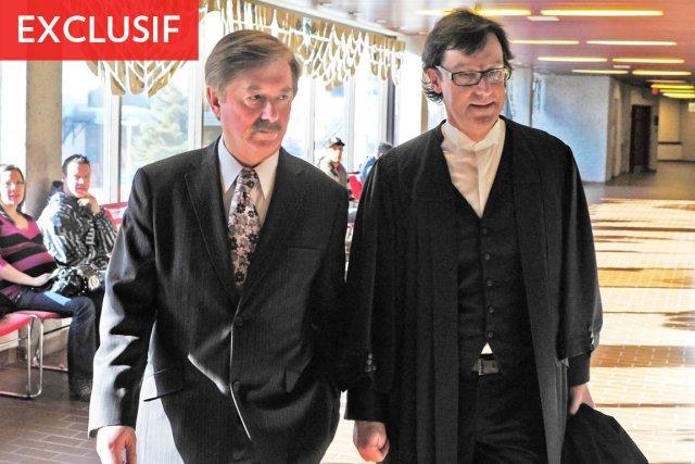 En plaidant coupable hier, le juge Yves Fournier... (Photo: Gimmy Desbiens, Le Quotidien)
