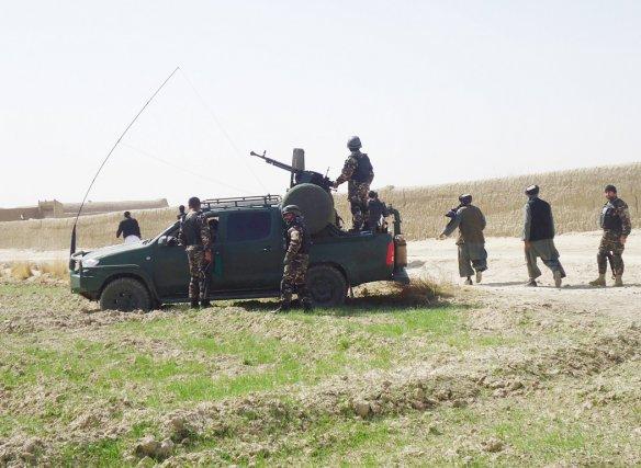 La délégation a été attaquée dans le district... (Photo: AFP)
