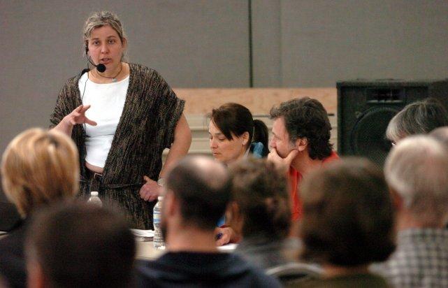 Marie-Pierre Pinard, responsable du comité du gymnase de... (Photo: François Gervais)