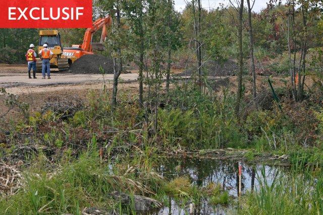 La Loi sur la qualité de l'environnement affirme... (Photo: Patrick Sanfaçon, Archives La Presse)