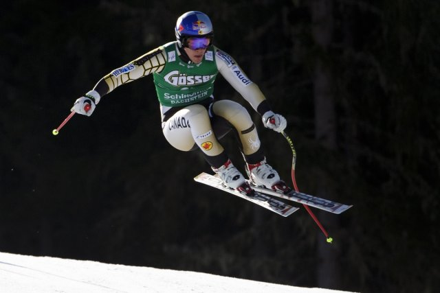 Erik Guay a pris le 13e rang de... (Photo: Fabrice Coffrini, Agence France-Presse)
