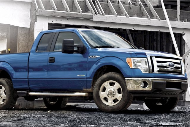 Le Ford F-150... (Photo fournie par Ford)