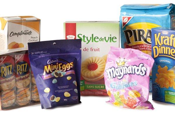 Tous les aliments présentés ici contiennent de la... (Photo Ninon Pednault, La Presse)