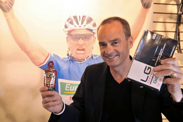 Les gels énergétiques  de Louis Garneau sont... (Le Soleil, Steve Deschênes)