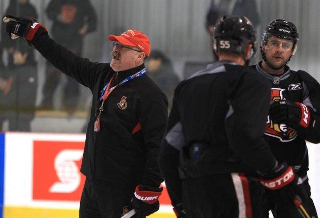 Même si son équipe est négligée, Paul MacLean... (Patrick Woodbury, LeDroit)