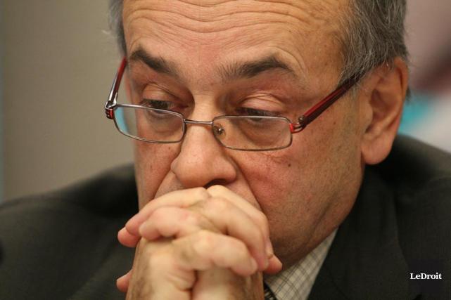 Le président du c.a. du CSSSG, Bruno Bonneville.... (Étienne Ranger, Archives LeDroit)