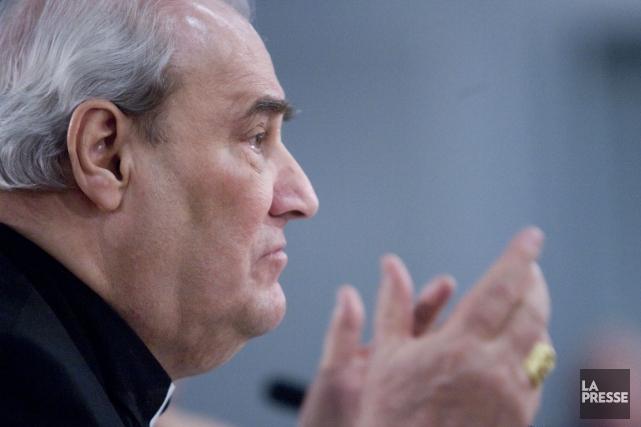 L'ex-cardinal Jean-Claude Turcotte, qui s'est retiré il y... (Photo: Martin Tremblay, Archives La Presse)