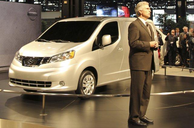 Joe Castelli, vice-président des véhicules commerciaux chez Nissan... (Photo Éric Descarries, collaboration spéciale)