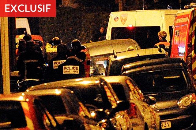L'homme cerné, hier, par la police française est... (Photo: AFP)