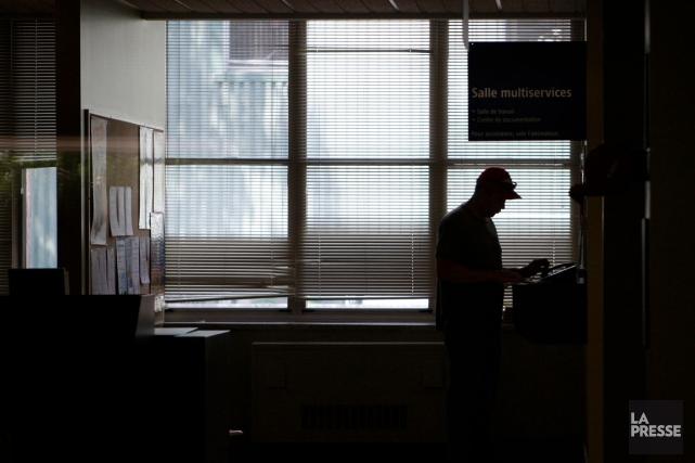 Le système sur les entrées et les sorties,... (Photo Martin Chamberland, archives La Presse)