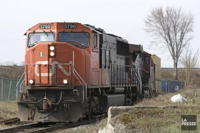 Les 3000chefs de train du Canadien National (CN) ont conclu une entente de... (Photo Alain Roberge, archives La Presse)