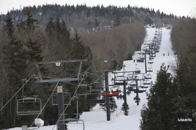 Ski Sutton appartient à la famille Boulanger. Elle... (Photo archives La Voix de l'Est)