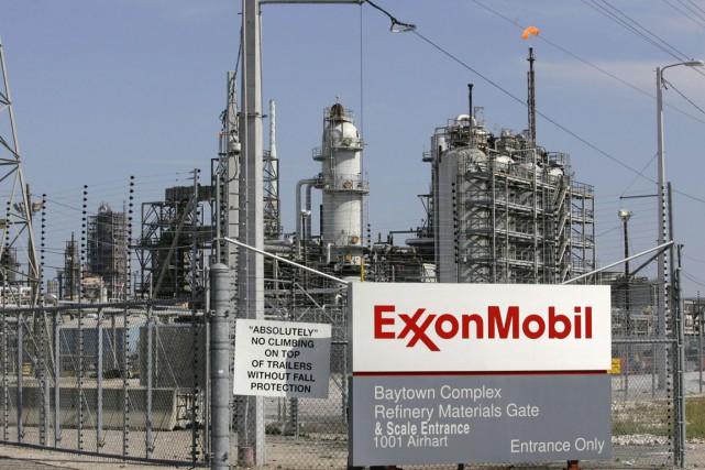 Raffinerie d'Exxon Mobil à Baytown (Texas).... (Photo Reuters)