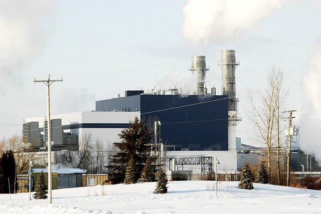 La centrale de gaz naturel de la compagnie... (Photothèque Le Soleil)