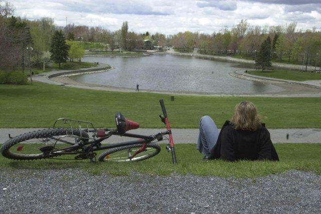 Le lac aux Castors profitera d'une cure de... (Photo: Robert Nadon, Archives La Presse)