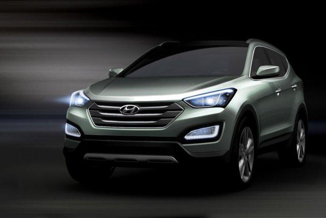 Santa Fe 2013 de Hyundai... (Photo fournie par Hyundai)